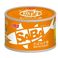 ニッスイ スルッとふたSABA缶 味噌煮 150g×24缶 05251