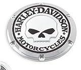 ハーレーダビッドソン/Harley-Davidson ウィリーG.・スカル・コレクション・ダービーカバー/25440-04A■ハーレーパーツ■カバー /SPORTSSTER