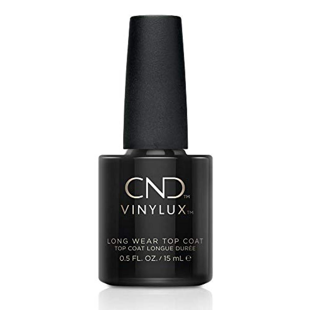 拡張差別的報酬のCND バイナラクス トップコート Long Wear Top Coat 15ml