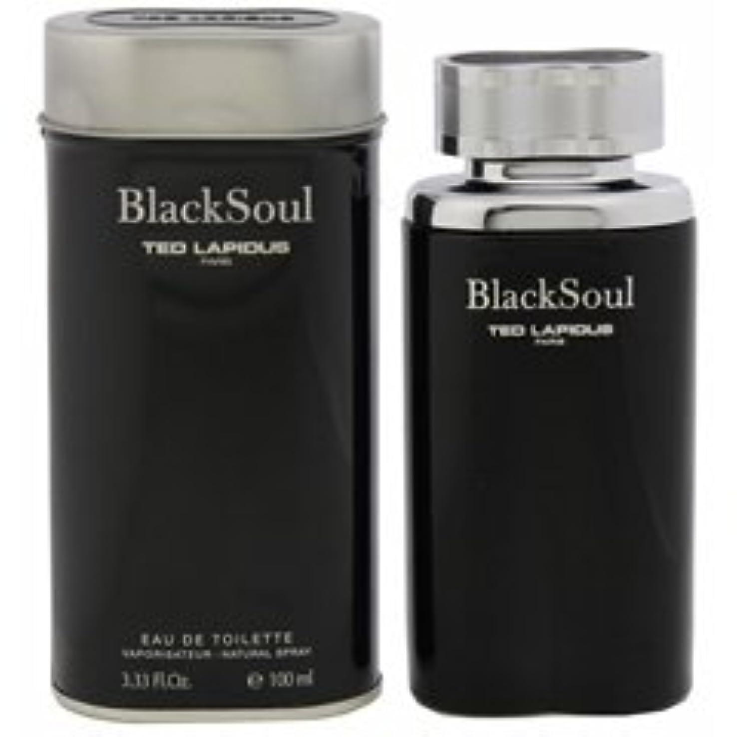 地殻説教残るBlack Soul (ブラック ソウル) 3.4 oz (100ml) EDT Spray by Ted Rapidus for Men