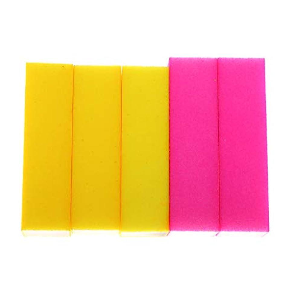 本物感謝祭条約Toygogo 大広間の4つの味方された釘の緩衝ブロックのマニキュアのアクリルの釘の磨くスポンジ