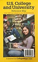 U.S. College and University Reference Map 6th edition [並行輸入品]