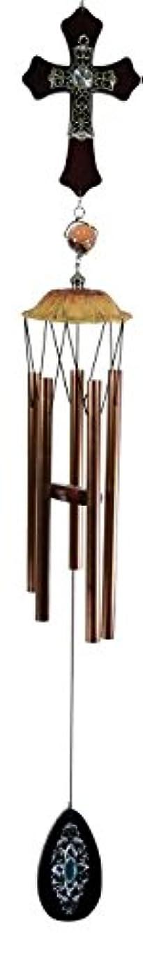 マッシュに勝るみがきますGREAT WORLD Wooden Cross Wind Chime 953003