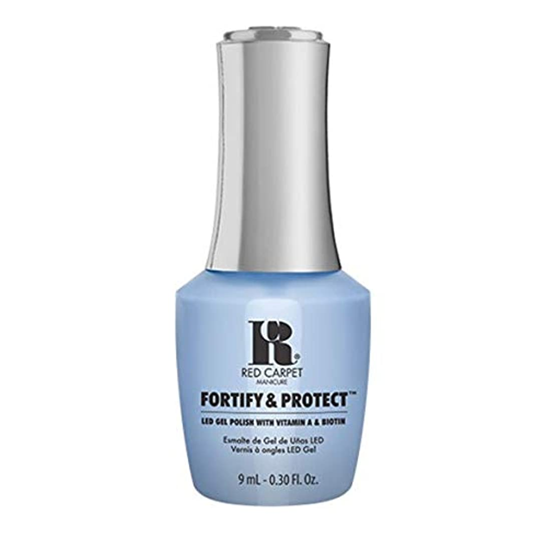 避難道周りRed Carpet Manicure - Fortify & Protect - Runway Rehearsal - 9ml / 0.30oz