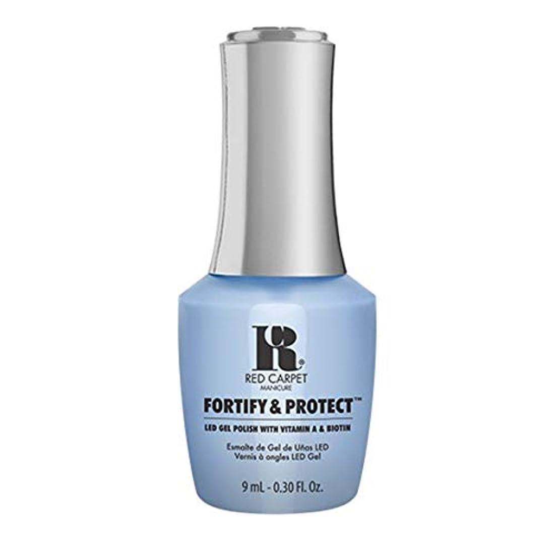 アライメント果てしないホバーRed Carpet Manicure - Fortify & Protect - Runway Rehearsal - 9ml / 0.30oz