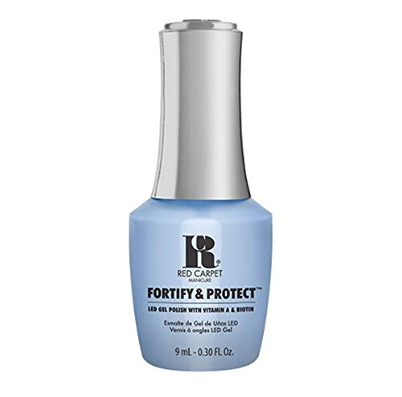 混沌一掃する三角形Red Carpet Manicure - Fortify & Protect - Runway Rehearsal - 9ml / 0.30oz