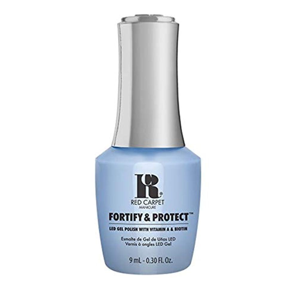 赤ちゃん寄付バーターRed Carpet Manicure - Fortify & Protect - Runway Rehearsal - 9ml / 0.30oz