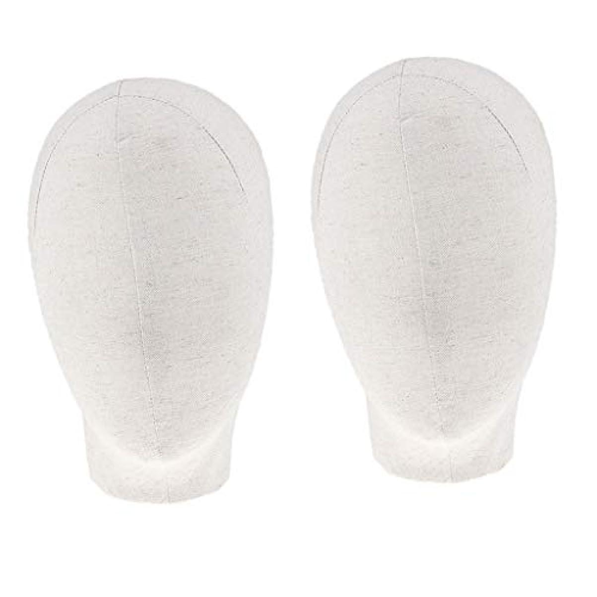 踏み台雪だるまを作るディスパッチDYNWAVE マネキンヘッド キャンバスブロック 21インチ かつら 帽子 メガネ ディスプレイ ホルダー