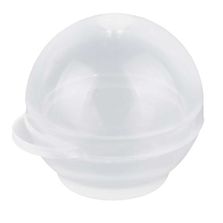 SONONIA 1セット 球形 シリコン鋳型 樹脂金型 鋳造ケース 60mm ボール作り