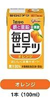 江崎グリコ 毎日ビテツ オレンジ【100ml×15本×4箱】60本
