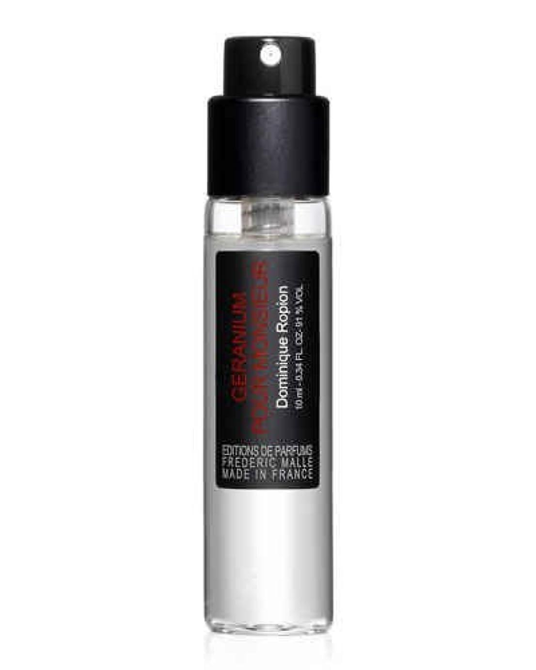 休日にサイレント寓話Frederic Malle Géranium pour Monsieur (フレデリック マル ゼラニウム プアー ムッシュー) 0.33 oz (10ml) EDP Spray Refill (詰め替え用)