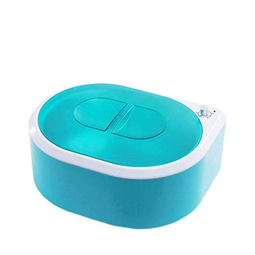 しない胃ボスソフト、パラフィン、暖かい、クレームとストリップワックスのための専門の電気ワックスウォーマーとヒーター サロン品質の結果のための可変温度と脱毛用ワックスメルター (Color : Green)