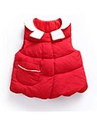 [サ二ー] ダウンベスト キッズ ダウンコート 子供 男の子 赤ちゃん 軽量 折り襟 ファスナー ダウンジャケット かわいい ダウンーコート 冬秋 男女兼用 おしゃれ 女の子 キッズ 暖かい 防寒着