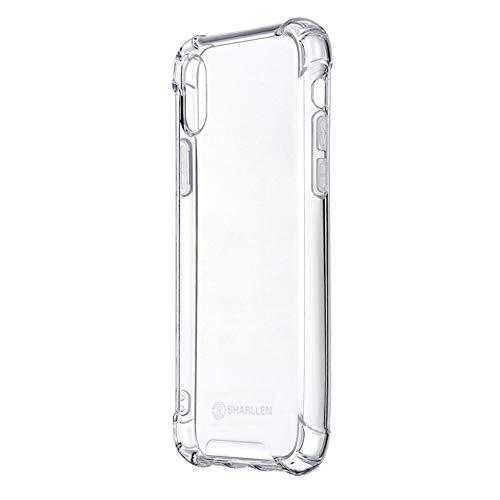 iPhone XS ケース/iPhone X ケース スマホケース?クリア アイフォンXS/Xケース TPU素材 保護カバー 透明 ソフト 耐衝撃 擦り傷防止 iPhone case by sharllen (クリア)