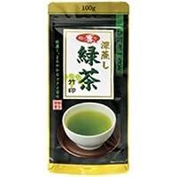 (まとめ買い)朝日茶業 牧の香り深蒸し緑茶 1000 竹 100g 【×20セット】