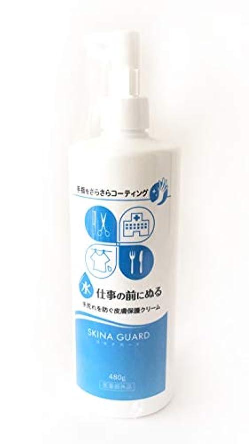 アンペア冗談でケーキスキナガード 480ml ポンプボトル(スキナバリア ハンドバリアプロA) SKINA GUARD 大木製薬 医薬部外品