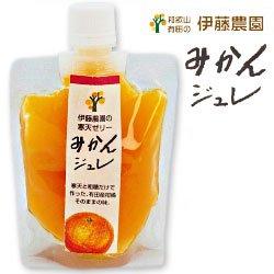 伊藤農園 ピュアフルーツ寒天 みかんジュレ ドリンクタイプ 150gパウチ×15個入×(2ケース)