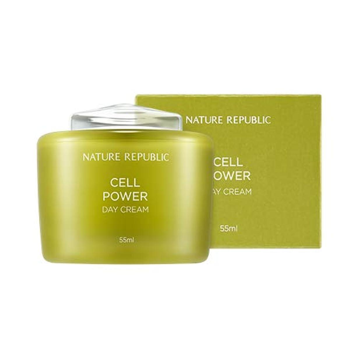プットシンカン寂しいNATURE REPUBLIC Cell Power Day Cream/ネイチャーリパブリック セルパワー デイクリーム 55ml [並行輸入品]