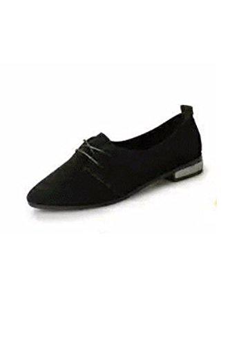 [해외](KiKi &  Gil) 여성 레이스 업 슈즈 옥스퍼드 구두 여성 펌프스 삼촌 신발 통근 통학 캐주얼 플랫 낮은 굽 플랫 슈즈/(KiKi & Gil) Women`s Lace-up Shoes Oxford Shoes Women`s Pumps Uncle Shoes Commuter School Casual Flat Low-heeled Flat Sho...