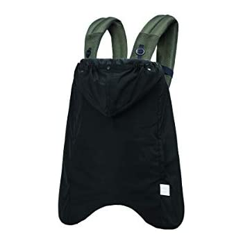 BABYHOPPER ベビーホッパー(BABYHOPPER) 抱っこ紐カバー 防寒 前向き抱き対応 3way ベビーカー オールウェザーカバー ブラック 0か月~ CKBH03033