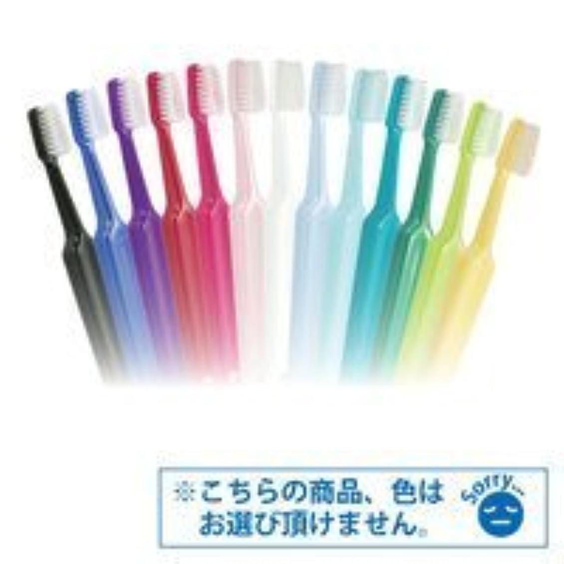 中級世界に死んだ許容Tepe歯ブラシ セレクトコンパクト/ミディアム 25本/箱