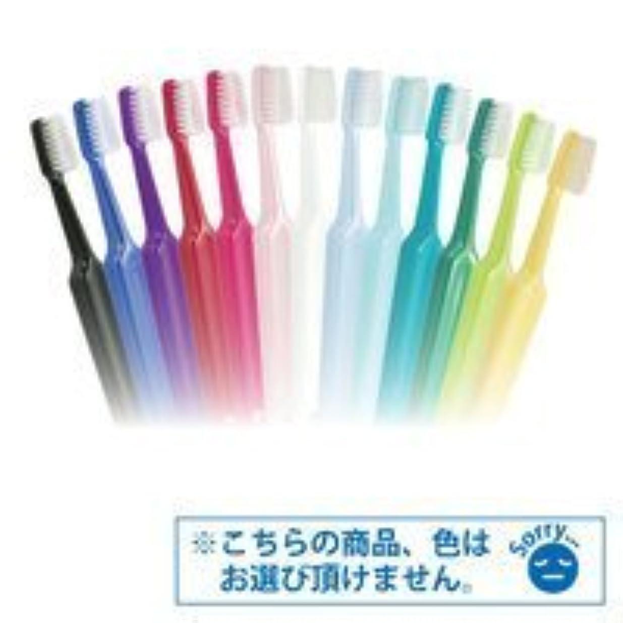 の前で酸っぱいの前でTepe歯ブラシ セレクトコンパクト/ミディアム 25本/箱
