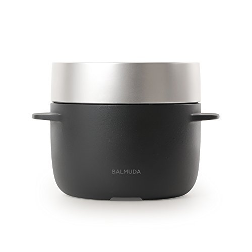 RoomClip商品情報 - バルミューダ 3合炊き 電気炊飯器 BALMUDA The Gohan バルミューダ ザ・ゴハン K03A-BK ブラック