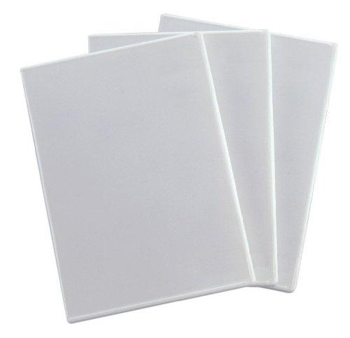 Digio2 DVDケース 4枚収納 x 3セット ホワイト DVD-A006-3W