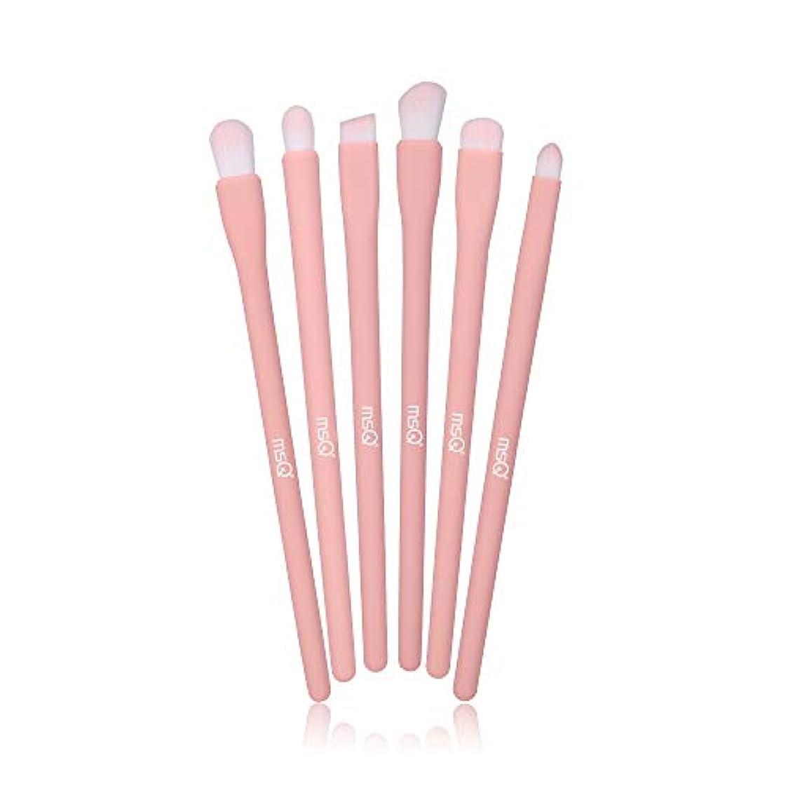 無傷エキススクラップブックMSQ アイシャドウブラシ 6本セット メイクブラシ 化粧ブラシセット イクブラシセット 人気