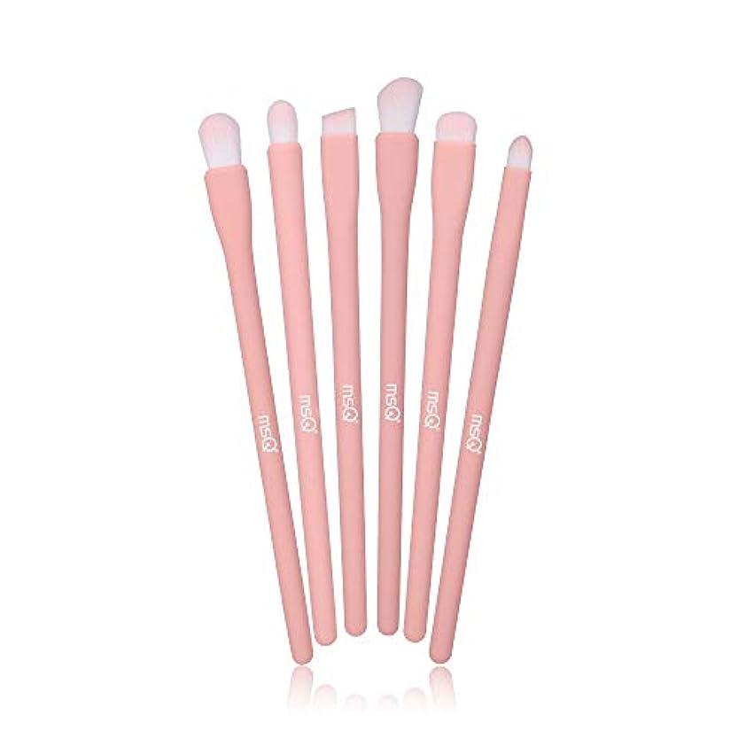 危険を冒します議会ペニーMSQ アイシャドウブラシ 6本セット メイクブラシ 化粧ブラシセット イクブラシセット 人気