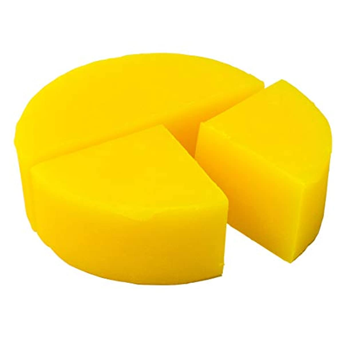 後方にポイント偽グリセリン クリアソープ 色チップ 黄 100g (MPソープ)