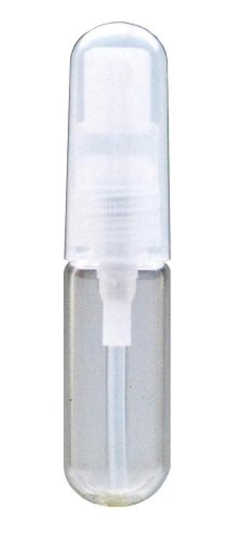 ハッピー測定可能真向こうガラス カプセルアトマイザー 38093 (カラスカプセル クリア) 3.3ml 【ヒロセ アトマイザー】