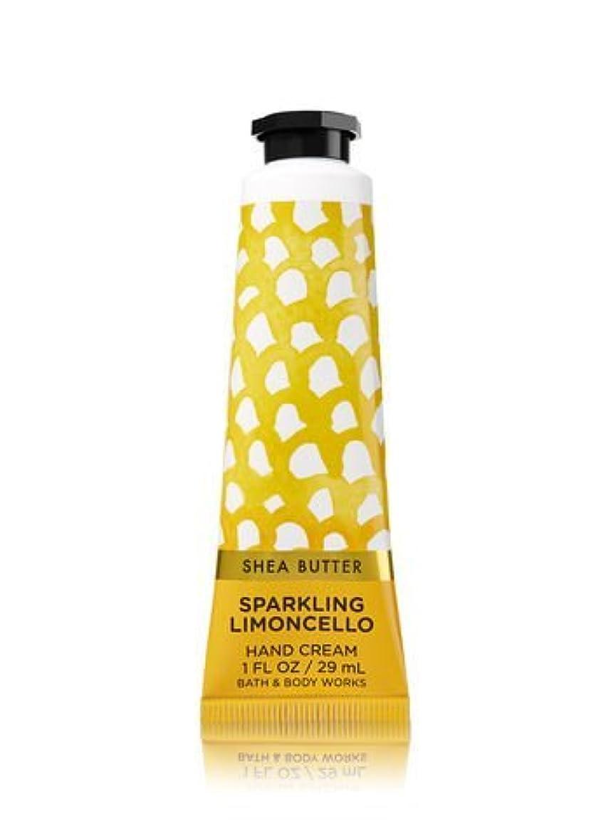 閉じ込める本当に通り【Bath&Body Works/バス&ボディワークス】 シアバター ハンドクリーム スパークリングリモンチェッロ Shea Butter Hand Cream Sparkling Limoncello 1 fl oz...