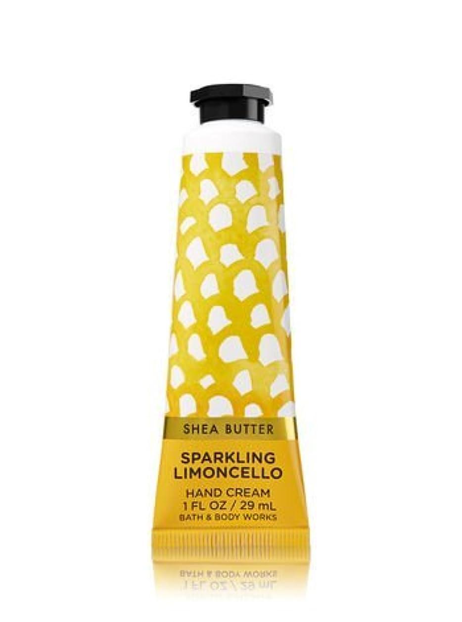 系譜ゴールド学者【Bath&Body Works/バス&ボディワークス】 シアバター ハンドクリーム スパークリングリモンチェッロ Shea Butter Hand Cream Sparkling Limoncello 1 fl oz...
