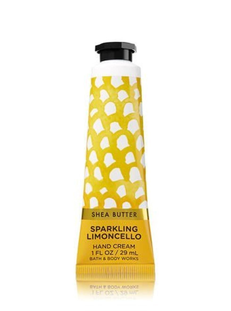 城乞食喪【Bath&Body Works/バス&ボディワークス】 シアバター ハンドクリーム スパークリングリモンチェッロ Shea Butter Hand Cream Sparkling Limoncello 1 fl oz...