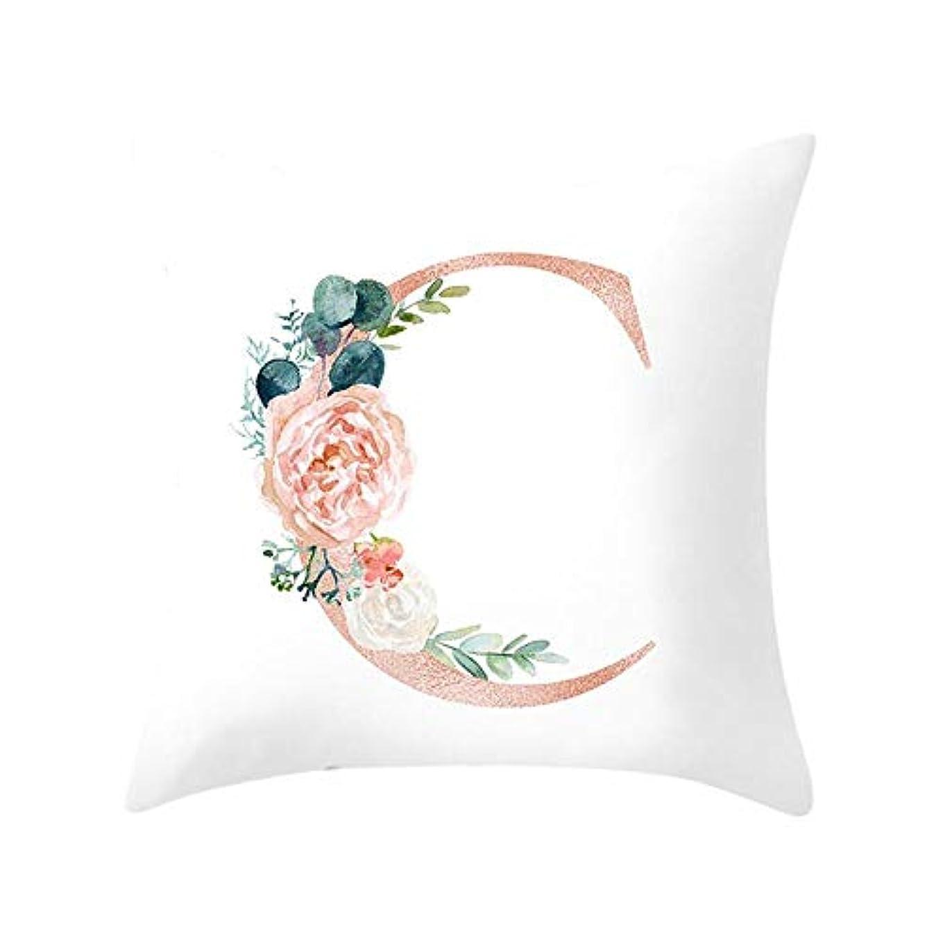 わずかにお嬢洪水LIFE 装飾クッションソファ手紙枕アルファベットクッション印刷ソファ家の装飾の花枕 coussin decoratif クッション 椅子