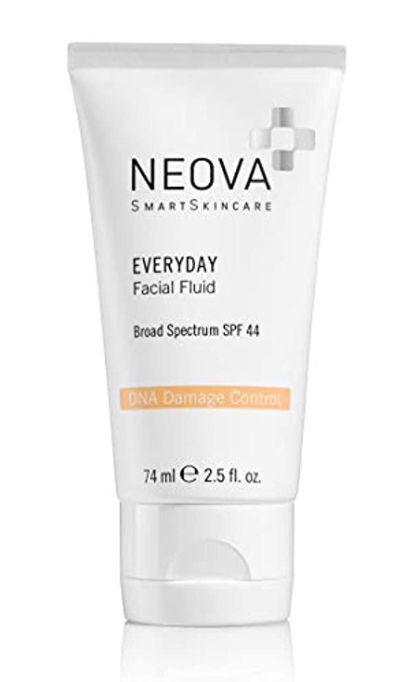 耕す霧深い石のNeova DNA Damage Control Everyday for the Face SPF 44 74 ml 2.5 oz
