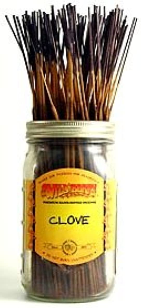 被るあたたかい余分なClove - 100 Wildberry Incense Sticks by Wild Berry
