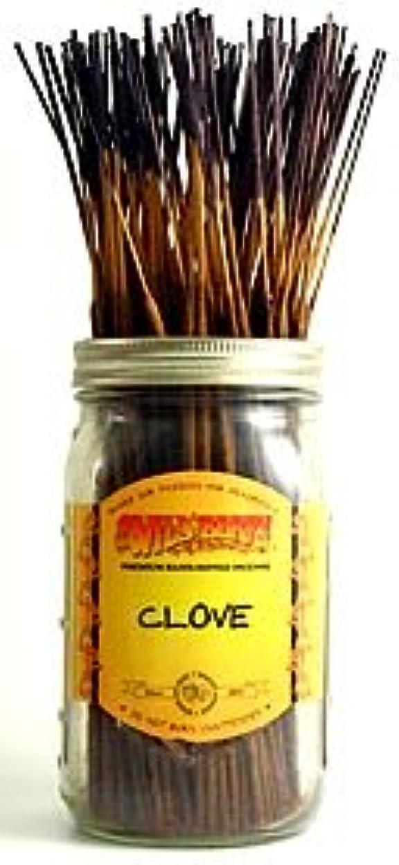 シミュレートする必需品一生Clove - 100 Wildberry Incense Sticks by Wild Berry