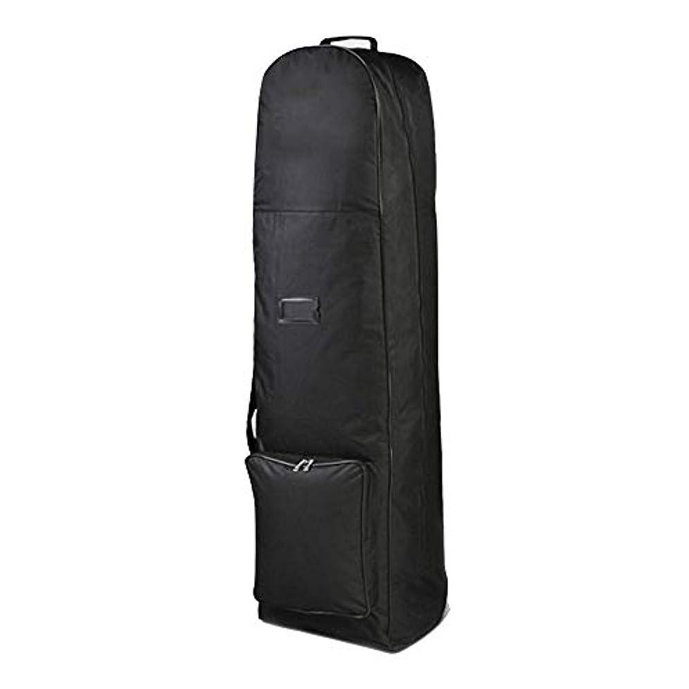 固執無数の半円ゴルフクラブのクラブゴルフトラベルバッグトラベルカバー荷物 (色 : ブラック, サイズ : 130X40x35cm)