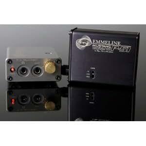 Ray Samuels Audio P-51 Mustang ブラック 黒 RSA ポータブルヘッドフォンアンプ (並行輸入品) (黒)