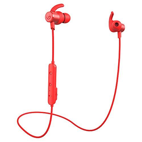 ワイヤレスイヤホン Gvoears Bluetoothイヤホン Bluetooth5.0 高音質 低音重視 ipx6防水進級版 左右一体型 ...