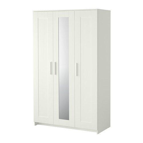 IKEA(イケア) BRIMNES ワードローブ 扉3枚付 ホワイト
