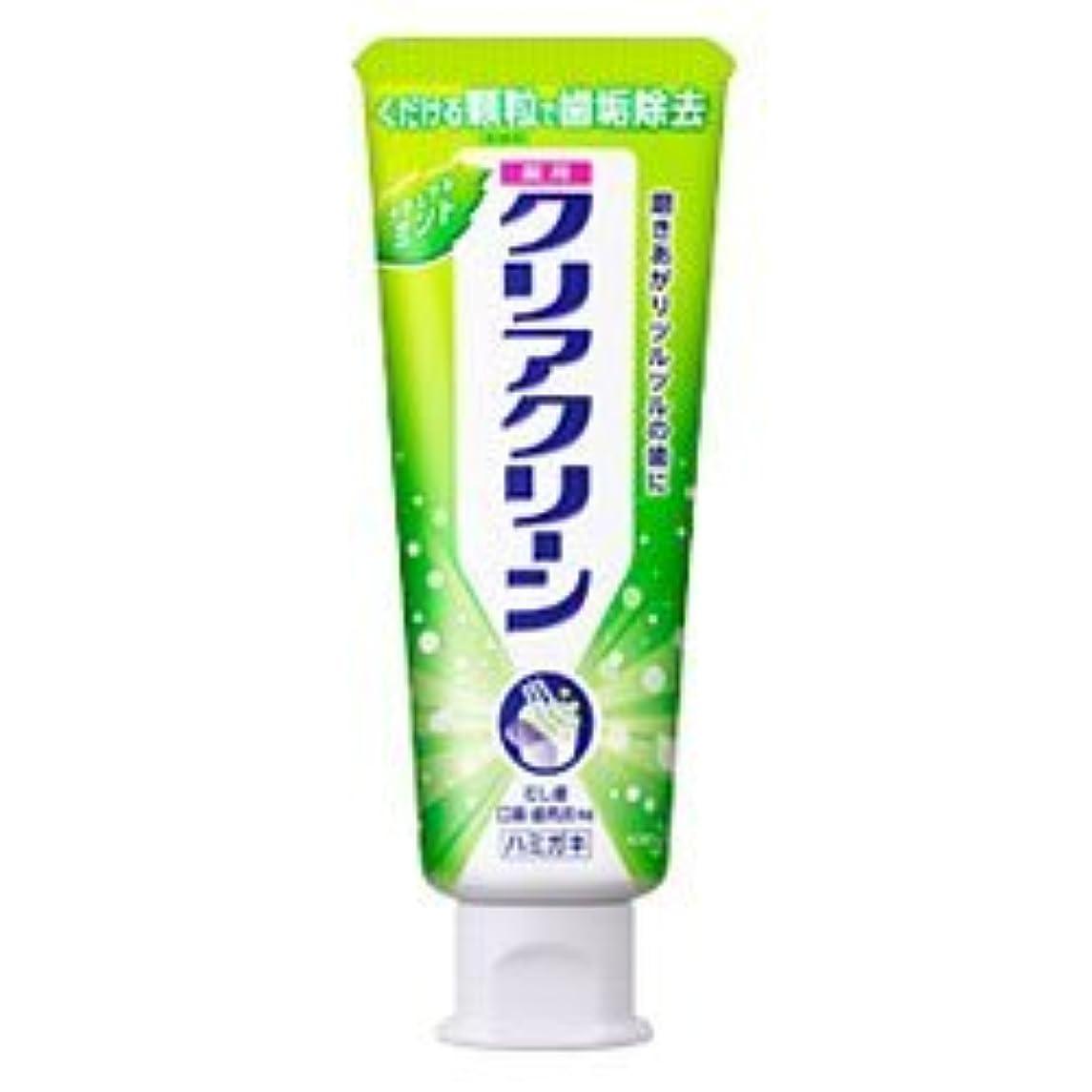リフレッシュキャメルアソシエイト【花王】クリアクリーン ナチュラルミント スタンディングチューブ 小 80g ×5個セット