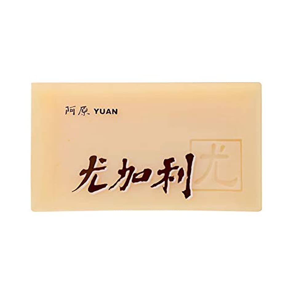はねかけるまた明日ね開梱ユアン(YUAN) ユアンソープ ユーカリソープ 100g (阿原 石けん 台湾コスメ)