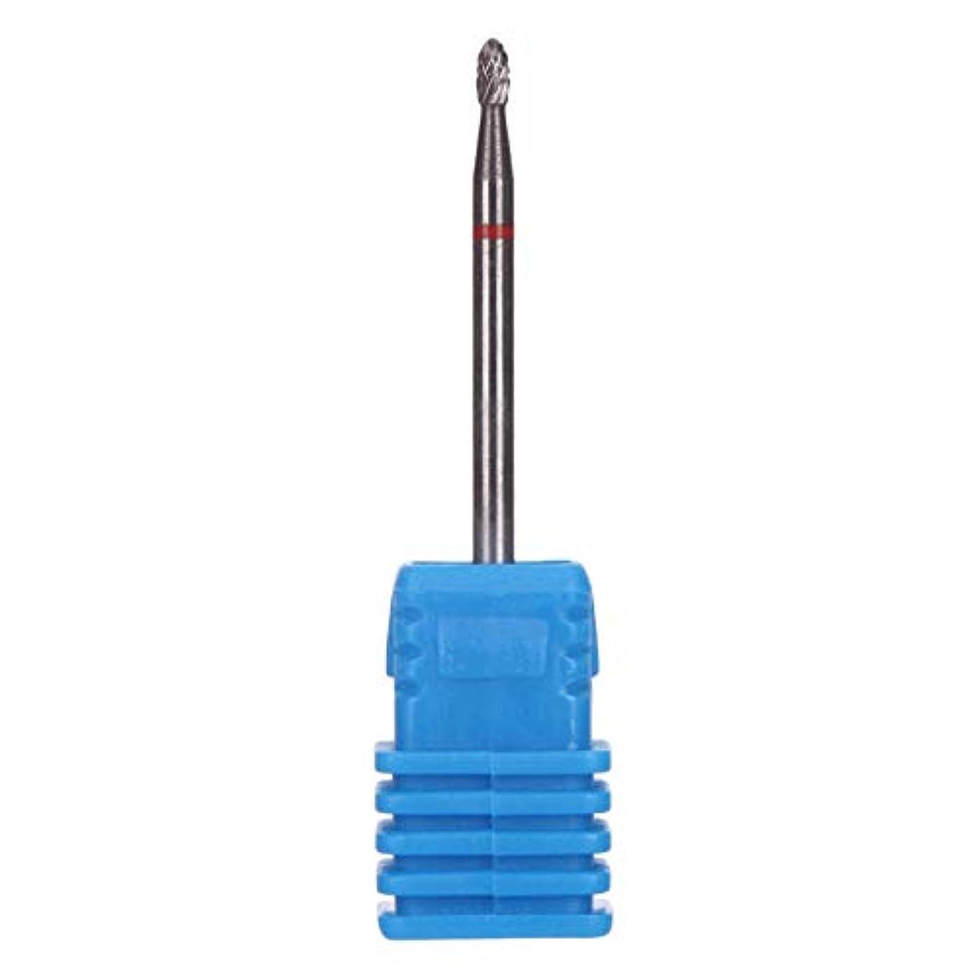 過ちブラインド繊細OU-Kunmlef 釘芸術美しさカッター研削タングステン鋼研磨フライドマニキュアペディキュア釘(None S-H0103 Elliptical)