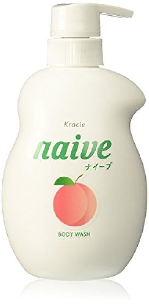 暗黙硬化する珍味ナイーブ ボディソープ (桃の葉エキス配合) ジャンボ 550mL