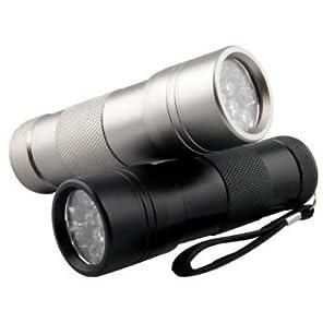 ブラックライト UV 紫外線ライト 12LED (ブラック)