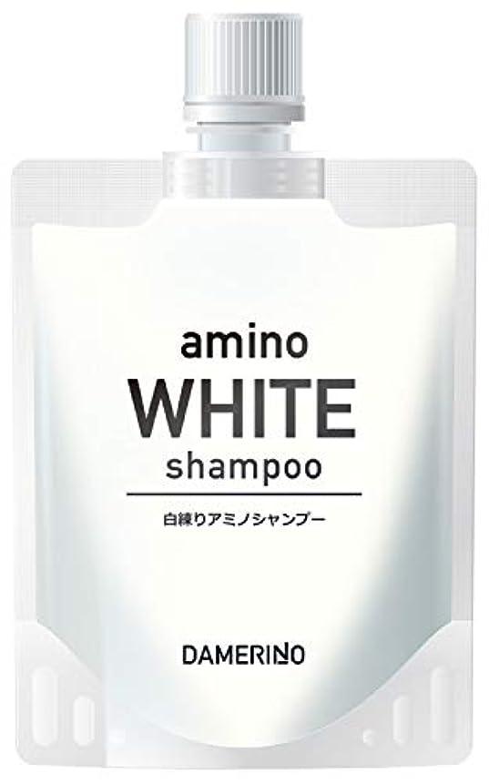 吹きさらしヒロイン南東ダメリーノ アミノ酸 スカルプシャンプー メンズ 頭皮ケア ダメージ ケア オールインワン アミノホワイトシャンプー 150g