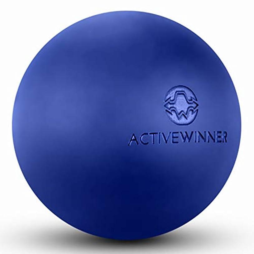 インデックス世界の窓一般的にActive Winner マッサージボール トリガーポイント (ネイビー) ストレッチボール 筋膜リリース トレーニング 背中 肩こり 腰 ふくらはぎ 足 ツボ押し